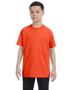 Jerzees Youth Heavyweight BlendT-Shirt - Burnt Orange - XS