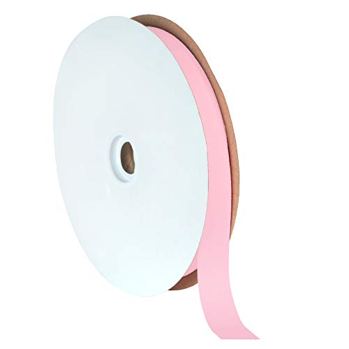Offray Light Pink Grosgrain Ribbon - Berwick Offray 7/8
