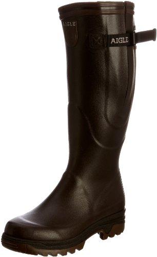 Parcours Aigle Stivali Di Gomma Misto Vario Colore Marrone (brun)