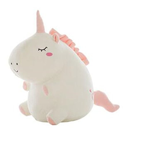 Tmrow 1pc Adorable Unicorn Stuffed Animal Plush Toy,White,38cm by Tmrow