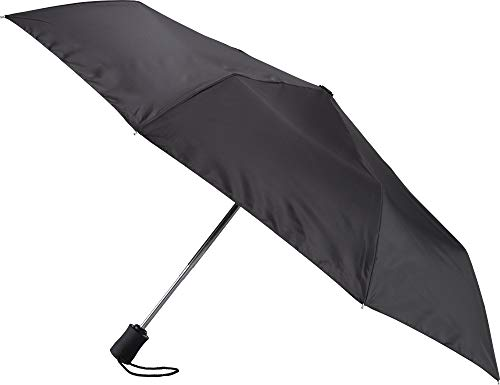 (Lewis N. Clark Windproof and Water Repellent Travel Umbrella, Black)