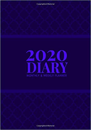 Amazon.com: 2020 Diary Monthly & Weekly Planner: Ultimate ...