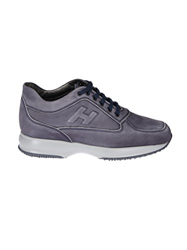 Hogan Herre Hxm00n09041lndu806 Blå Leder Sneakers xaRH0dEd
