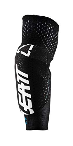 Leatt 3DF 5.0 Jr. Elbow Guard - Kids' White/Black, One Size