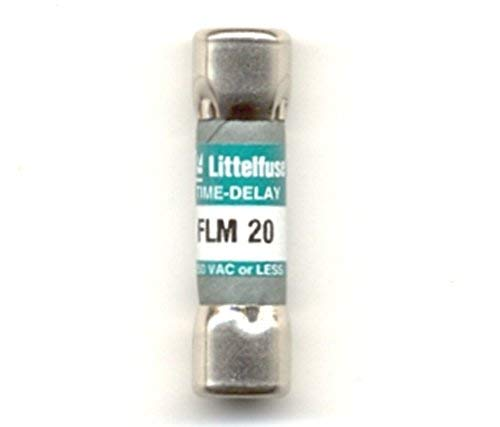 Littelfuse FLM- 20 FLM020, 20Amp 250V Cartridge Fuse
