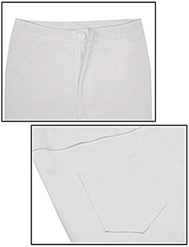 A Jeans Stretch Holes Pantaloni Anni Vita Leggings Ritagliati Alta Bianca Da Skinny Donna 20 Elodiey Cher Strappati FOgwIqq