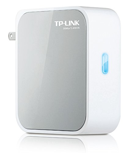 TP-Link N300 Wireless Wi-Fi Mini Router with Range Extender/Access Point/Client/Bridge Modes (TL-WR810N)