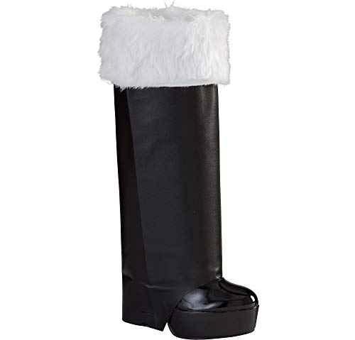 Christmas Santa Boot Covers, 1 pair | Party Costume -