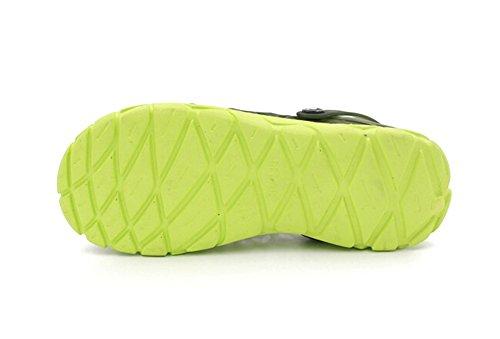 Fansela(TM) Unisex Couples Nest Jelly TPU Sandals Shoes mDark Blue Size 10 by Fansela (Image #5)