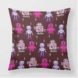 Refiring Custom Pillowcase Covers Geek Electro Mechanical Machine 18 Pillow Covers Square