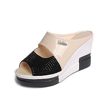 FYZS La MujerS Zapatillas &Amp; Brida Confort Flip-Flops Todos Coinciden con el Verano