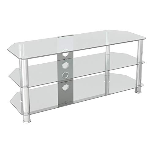 AVF SDC1140CMCC-A Classic - Corner Glass TV Stand (up to 55