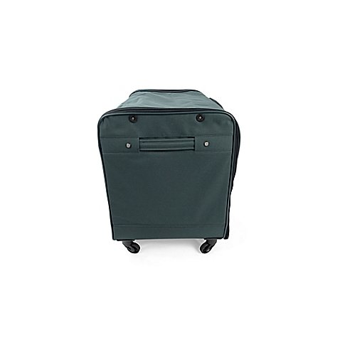 96-Count Extra Durable Rolling Ornament Case in Black, Provides Convenient, Organized Storage, Holds up to 15.5 lb., Measures 26'' W x 17.75'' D x 21.75'' H