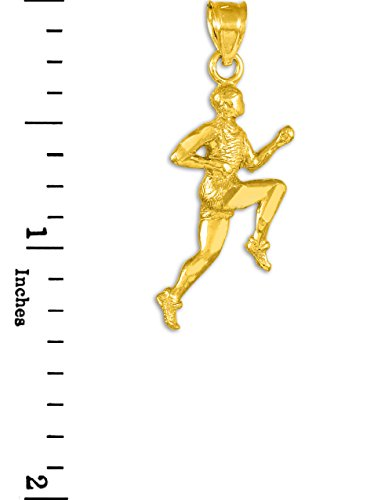 10 ct 471/1000 Or Coureur- Pendentif