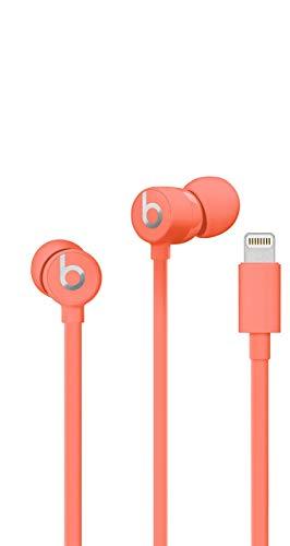 Beats urBeats3 Earphones with Lightning Connector - Coral (Renewed)