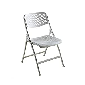 Amazon.com: JIANPING - Silla de oficina plegable de acero y ...