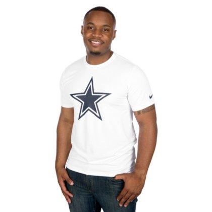 Official Nfl Logo Jacket - Dallas Cowboys NFL Mens Nike Legend Essential Logo 3 Teenike Legend Essential Logo 3 Tee, White, Medium