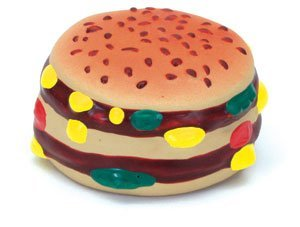 Coastal Pet Products 772821 83022 Ltx Hamburger Dog Toy
