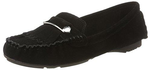 Tamaris 24619, Mocassins Femme Noir (BLACK 001)