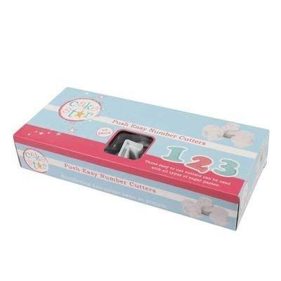 Lowercase Alphabet Set 26 Piece Cake Star Mini Push Cutters