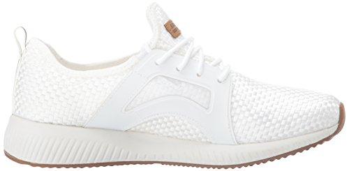 White Baskets Sport Blanc Skechers Cool Insta Femme Bobs fInw04