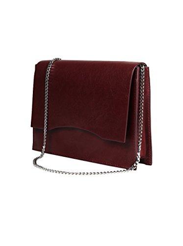 GVYN Damen Tasche Jaden in Bordeaux-Rot Burgundy j74zIEQEZU
