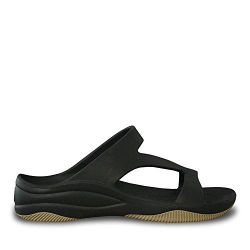 Dawgs Kvinners Premium Z Sandaler Svart / Tan ...
