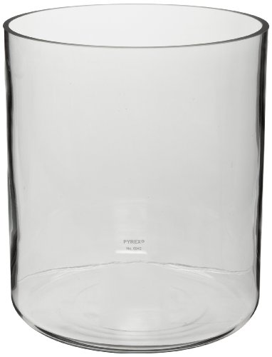 Corning Pyrex 6942-27L Borosilicate Glass 26.5L Plain Cylindrical Jar by Corning