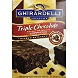 Ghirardelli Triple Chocolate Brownie Mix (Makes 3 Batches, 60 OZ box) Thank you for using our service