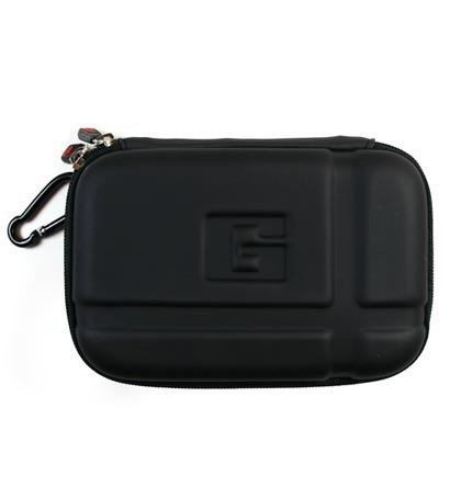 NuVur Black Abyss Heavy Duty Hard Cover Carry Case for
