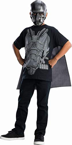 Man of Steel General Zod Costume Top with Cape Children's Costume, Medium -