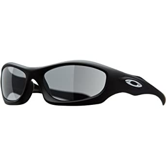 Oakley Men's Monster Dog Sunglasses Matte Black/Black Iridium