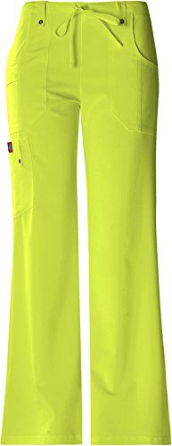 Dickies Xtreme Stretch Mid Rise Drawstring Cargo Pant (Kiwi, XXX-Large) by Dickies (Image #1)