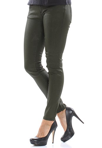 LTB Jeans Women MINA Khaki Coated Wash