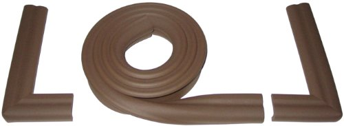 Kidkusion X-Long Hearth Kushions, Brown, 12.9' ()