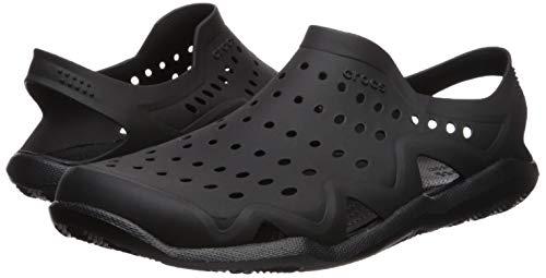 Crocs Men's Swiftwater Wave M Water Shoe Black, 5 M US by Crocs (Image #5)