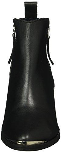 GARDENIA COPENHAGEN Short Boot with Zip Both Sides, Botines para Mujer Negro (Black 10)