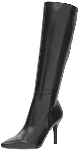 Nine West Women's Fallon, Black Leather, 6.5 Medium US by Nine West
