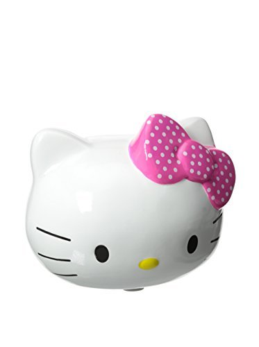 Hello Kitty Pink Polka Dot Bow Mini Piggy Bank