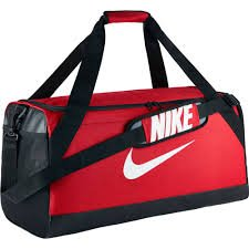 NIKE Bag Brasilia 891 cu Gym Black 3723 Medium Orange Duffel in Sports BA5334 aHaBrq