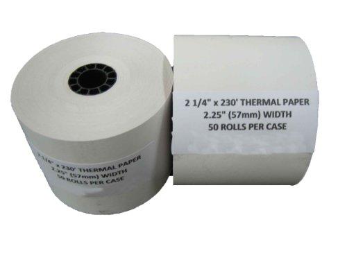Cash Register Paper For Datacard Silent Partner DH Print 1500 Eltron/Zebra LP2022 Epson MJ-930C, TM-3, TM-021, TM-930 IBM 7495 Sanyo ECR-386, ECR-386F Sharp XE-A101, XE-A20 ()