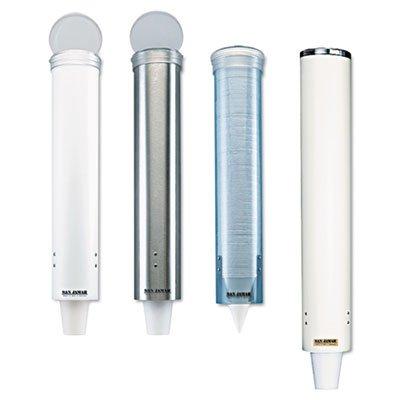 SJMC4150SS - Small Pull-Type Water Cup Dispenser by San Jamar