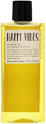 Bath & Body Works Happy Vibes Shower Gel, 8 Ounce