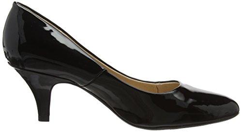 Pat Femme Escarpins Black fermé Patent Clio Blk Lotus Noir Bout IzSqxFTa