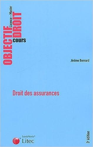 Lire en ligne Droit des assurances pdf ebook