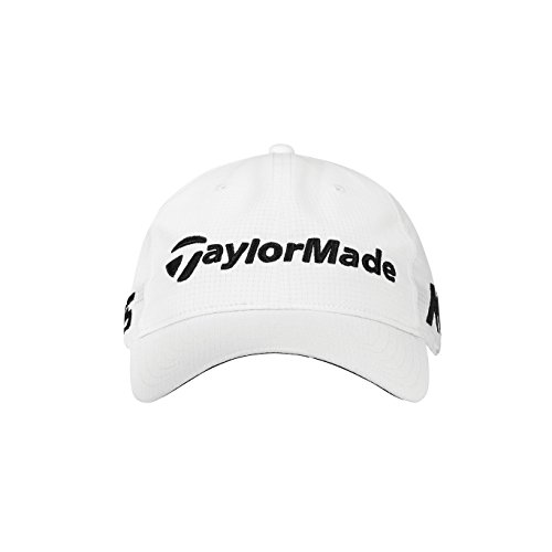 TaylorMade Golf 2018 Mens Litetech Tour Hat, White, One Size