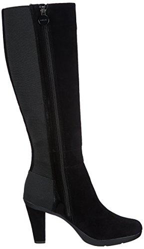 Geox D INSPIRATION STIV, Stivali a gamba alta Donna, Nero (Schwarz (BLACKC9999)), 38
