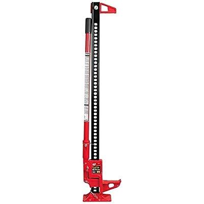 "Torin TRA8335B Big Red 33"" Ratcheting Off Road/Utility Farm Jack, 3 Ton (6,000 lb) Capacity: Automotive"