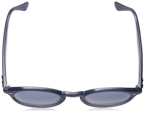 Dark Silver Non Clear Lenses Grad Frame Sunglass 51mm Injected Blue Man Mirror Opal Ray ban polarized Azure qFHUZX