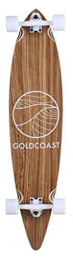 GoldCoast Classic Zebra Pintail Longboard Complete, used for sale  Delivered anywhere in USA